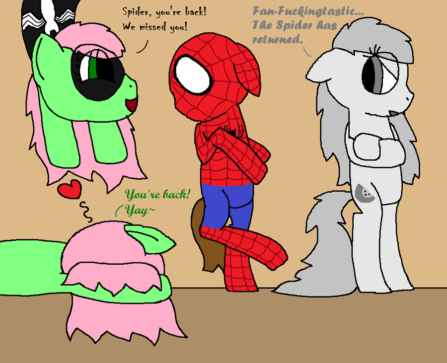 Welcome Back Spider-Colt! by NyctoScoto