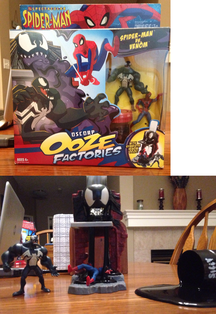 Venom vs Spider-Man Playset and Review by NyctoScoto