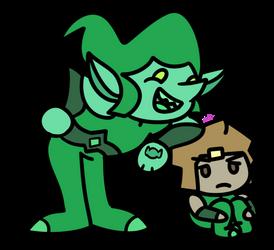Goblinite And Pyrite