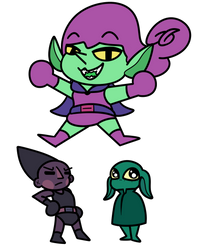 Green And Purple - Old Concept Fusion