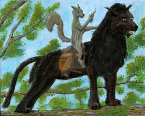 Takaski and his Warhound Commission