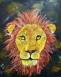 Lion Nebula by Tikaaniwicker4