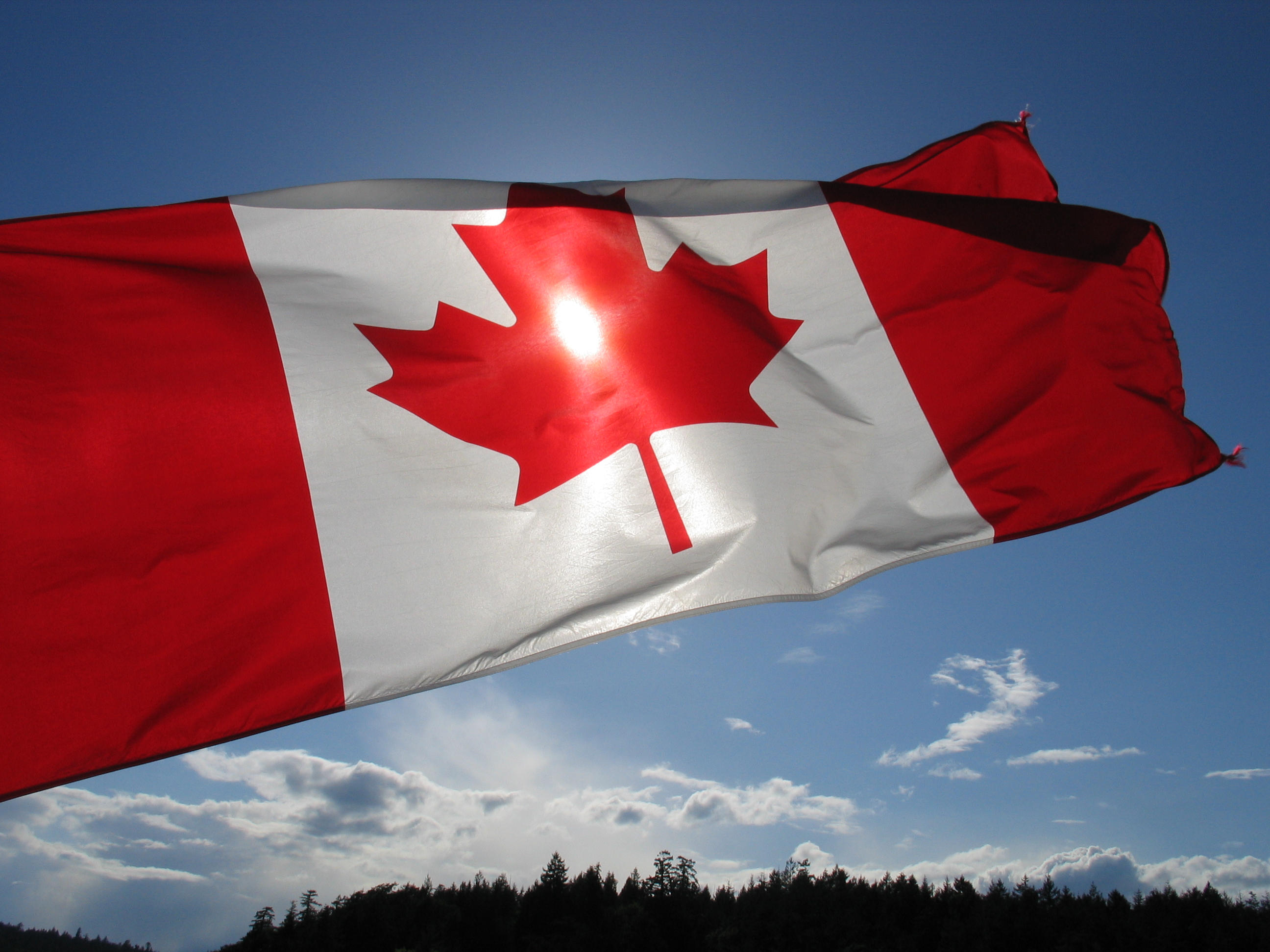 Canadian flag by aesoph on DeviantArt