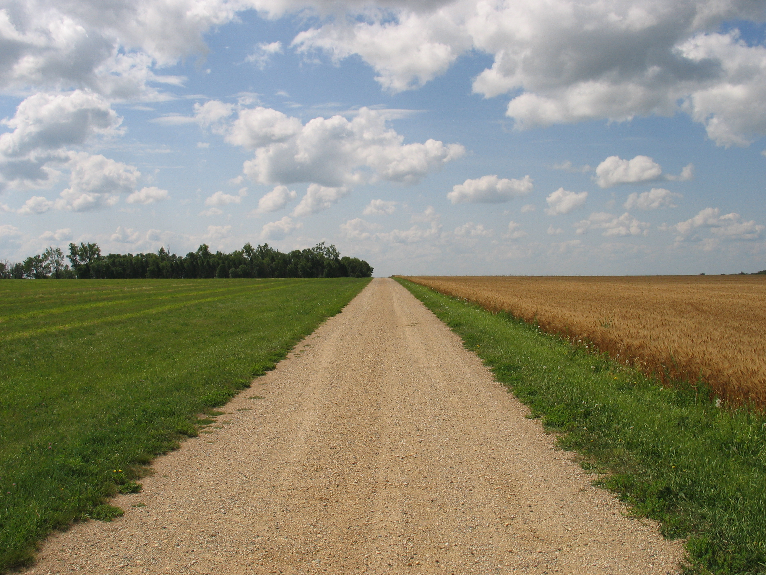 Gravel Road Up by aesoph