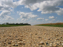 Gravel Road Down by aesoph