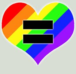 Love Equality - digital by kaelarkabei