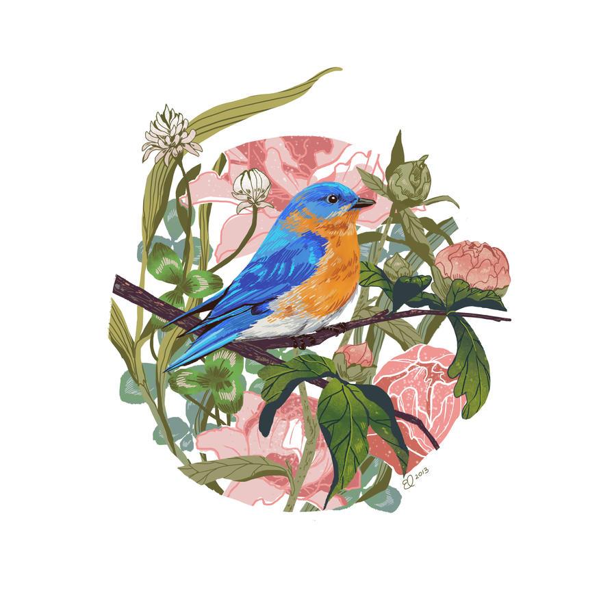 Bluebird by Eachy-Peachy