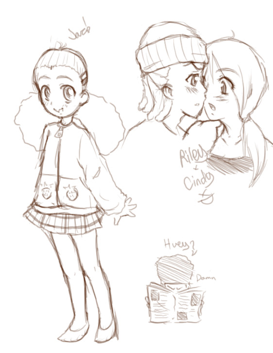 Doodles 4 the sake of doodles by Lillyfan123