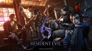 Resident Evil 6 - Anniversary Wallpaper