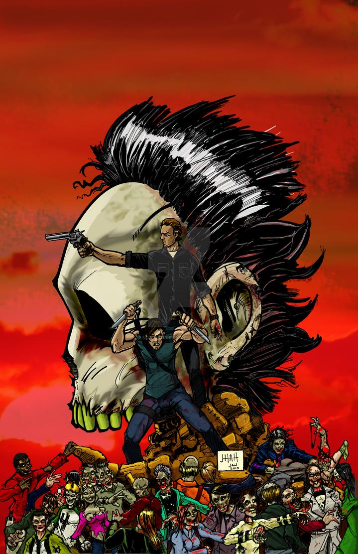 Walking Dead by jasonhattery