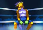 Jesse Xiardo on the ring