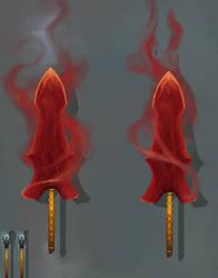 Summon dual blade [Broken bo/quarterstaff]