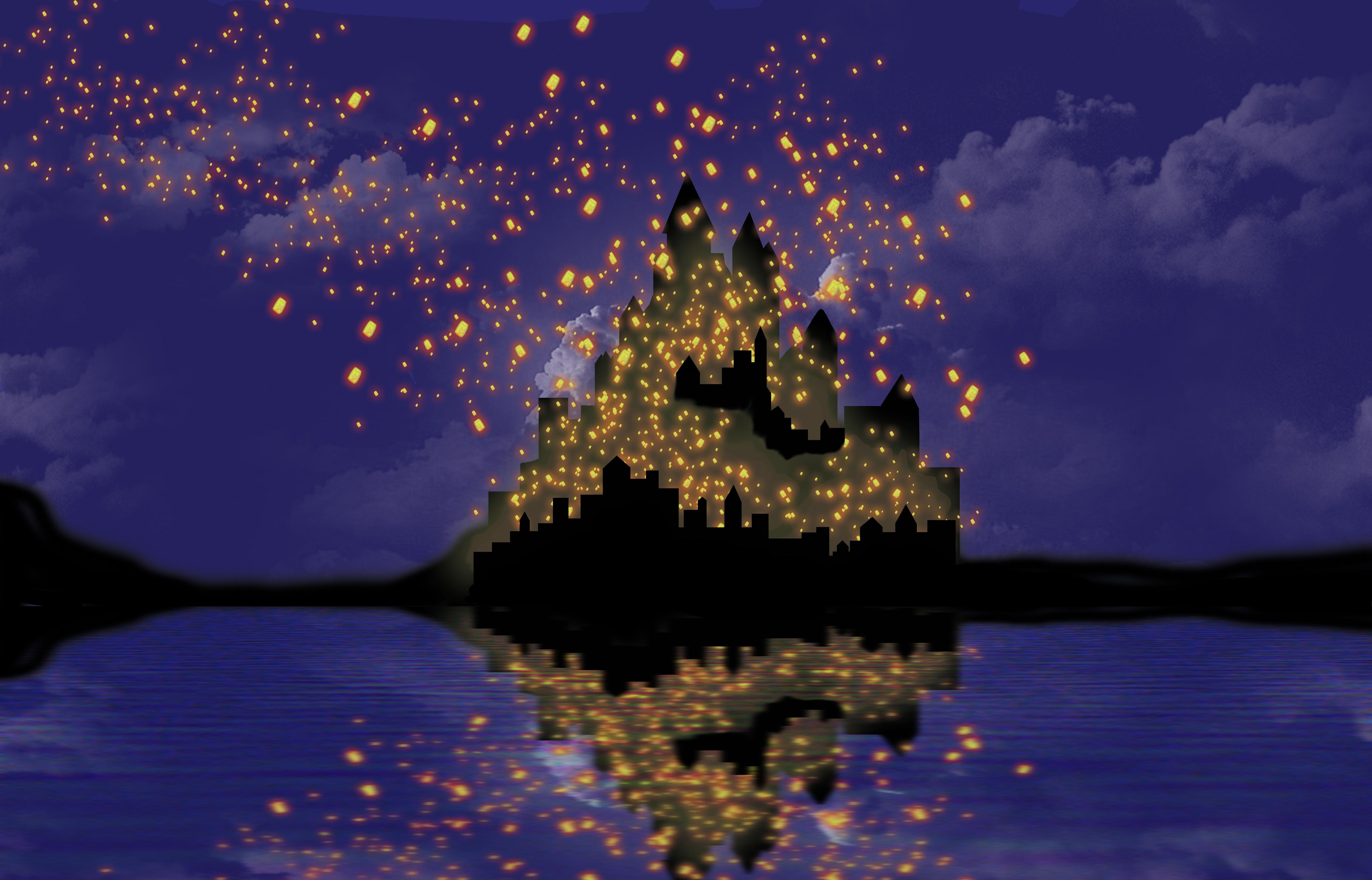 Tangled Lanterns By Kyuuto