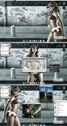 .: Onyx Street Smart :. by drudragon