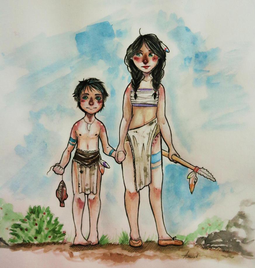 Childhood by AmarokMugi