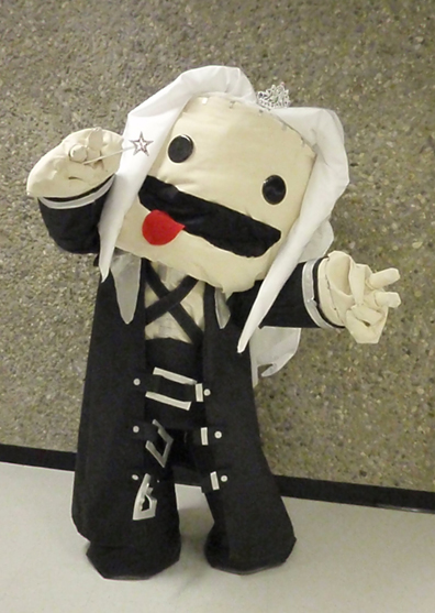 Sackboy Sephiroth Cosplay by Kitara88