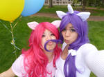 Cosplay: Playful Pinkie and Rarity