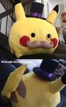 Sir Pikachu plush