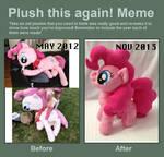 Plush this again: Pinkie Pie