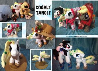 Cobalt Tangle Plush