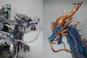 Esculturas de Dragones by Ikhramet