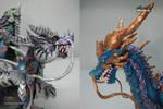 Esculturas de Dragones