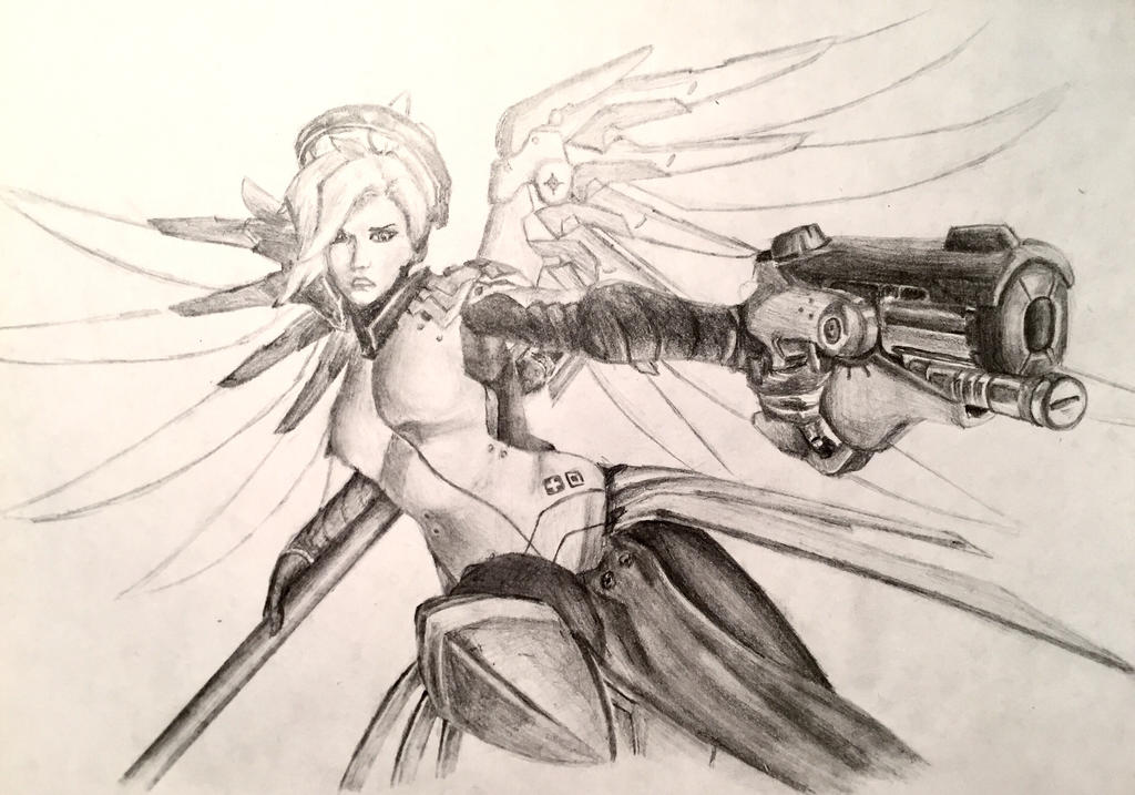 Mercy, Pistol by Azyrina