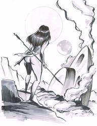 NATIVE GIRL 2 by TimPhillips