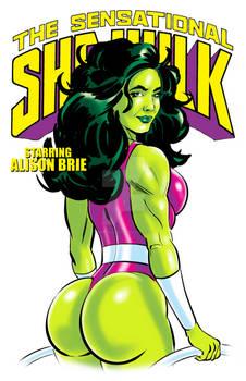 Sensational She-hulk - Starring Alison Brie