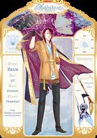 Symphoria v2: ZEUS, Staccato Leader by TarunaRei