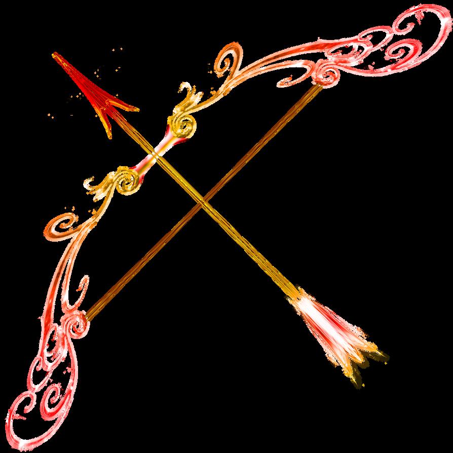 ruby bow fire opal arrow by sunrise oasis on deviantart
