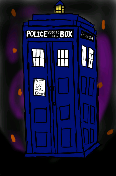TARDIS in Space by Whovian178 on DeviantArt