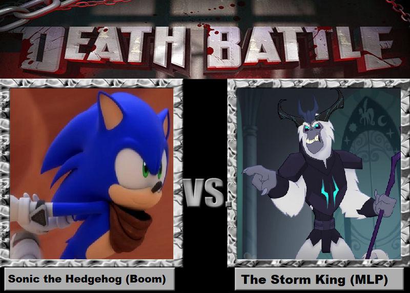 Death Battle 2 Sonic The Hedgehog Vs Storm King By Negaboss2000 On Deviantart