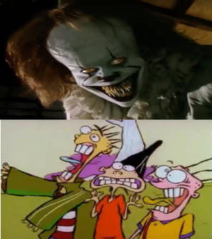 The Eds meet Pennywise the Dancing Clown