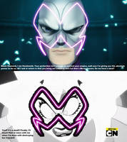 Hawkmoth Akumatizes White Diamond by Negaboss2000