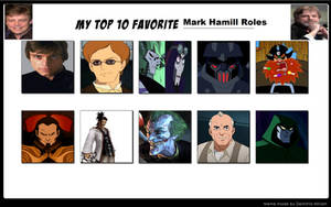 Top 10 Fave Mark Hamill Roles