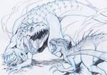indominus rex vs indoraptor