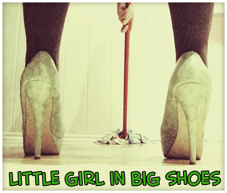 Little Girl in Big Shoes by littlegirlinbigshoes