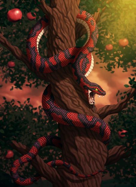 la serpiente del paraiso by juanex