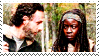 Rick+Michonne by Faster-Frosty