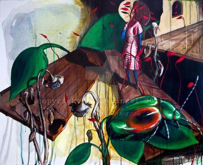 Samsa dreams by ThomKinzel