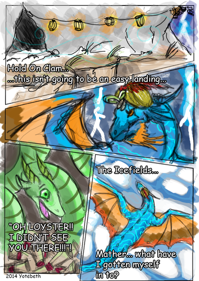 The Dragon and the Clam PT1 by dragoninthemist