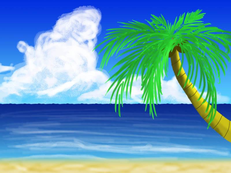 Beach by dragoninthemist