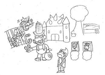 Mario's Very Eccentric Game of Monopoly (COVER) by ProfessorChinchilla