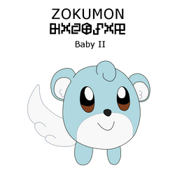 ZOKUMON (Fan Digimon) by ProfessorChinchilla