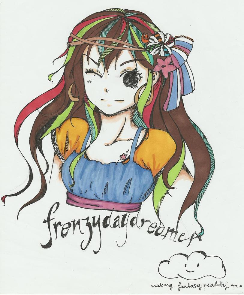 Frenzydaydreamer ~ ( Coloured ) by Frenzydaydreamer11
