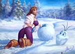 Snowman A1