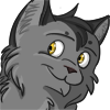 Warriors icon: adult greystripe by Winggal
