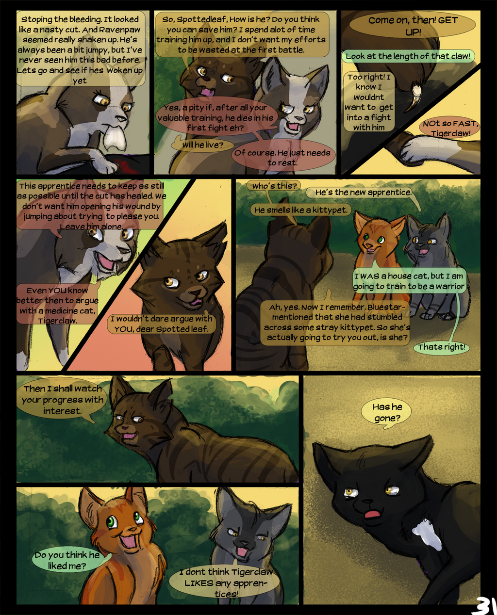 Warriors Into The Wild Movie By Erin Hunter: Warriors Into The Wild: Page 31 By Winggal On DeviantArt
