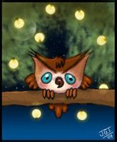 chibi owl by kireji00